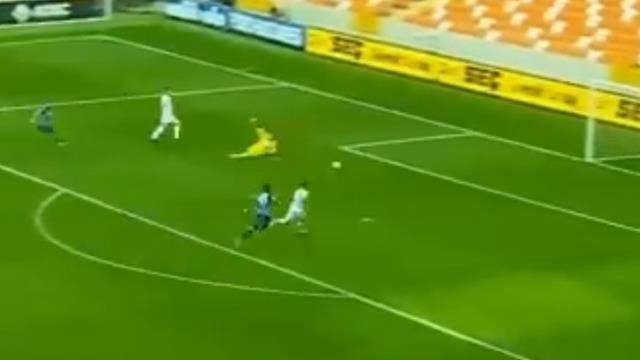 Balıkesir'in Adana Demirspor'a attığı gol skandal bir kararla iptal edildi