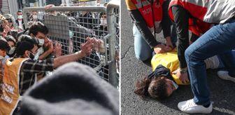 Gezi Parkı: Bariyerleri yıkarak 1 Mayıs'ı Taksim'de kutlamak isteyenler gözaltına alındı