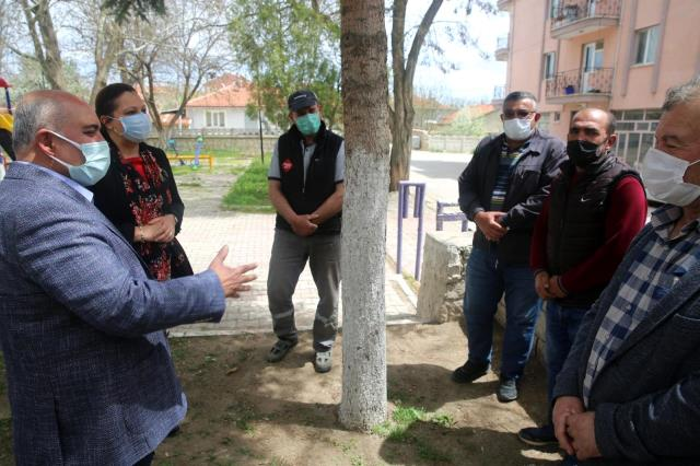 Belediye işçileri 1 Mayıs'ı kutladı
