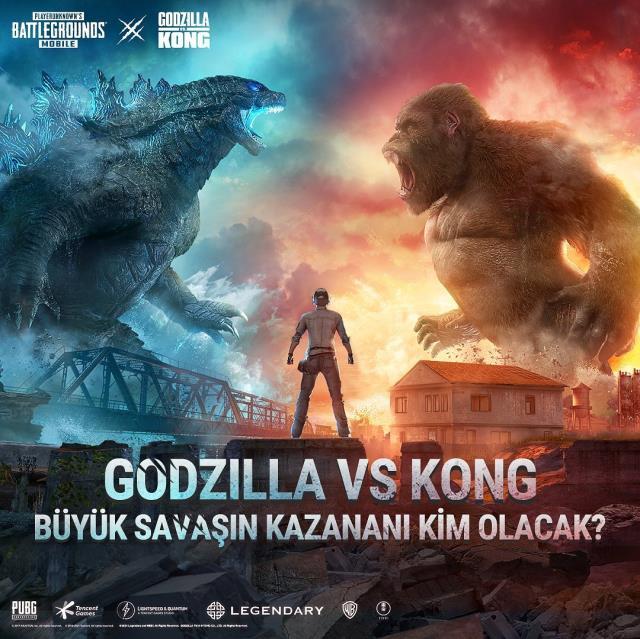 PUBG Mobile 19 sezon ne zaman gelecek? PUBG Mobile 19. sezon Godzilla ve King Kong ne zaman gelecek?