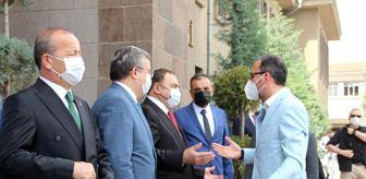 Ali Özkaya: AFYONKARAHİSAR - Gençlik ve Spor Bakanı Kasapoğlu, Afyonkarahisar Valiliğini ziyaret etti