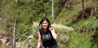 Ezan: Yaptığı köy işlerini sosyal medyada paylaşan Artvinli Heidi, kısa zamanda fenomen oldu