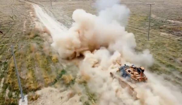 ASELSAN'ın VOLKAN-M Atış Kontrol Sistemi, tankla yaptığı testleri başarıyla geçti
