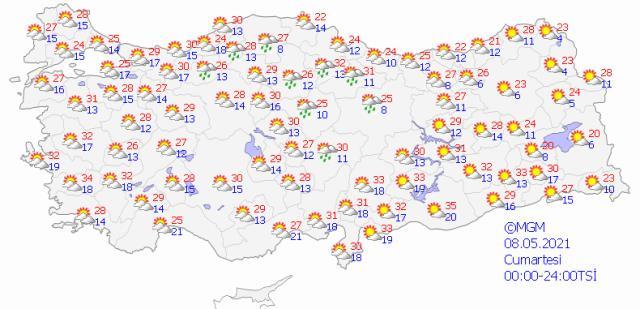 Meteoroloji uyardı! Yarından itibaren sıcaklık düşüyor, yağmur geliyor