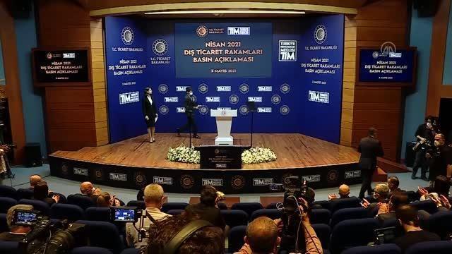 TİM Başkanı Gülle: 'Nisan ayı, Mart 2021'den sonra Cumhuriyet tarihinde en yüksek ihracat gerçekleştirdiğimiz ikinci ay oldu'