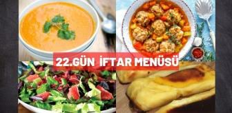 Küp: 22.Gün iftar menüsü! 4 Mayıs Salı 2021 Ramazan iftar menüsü
