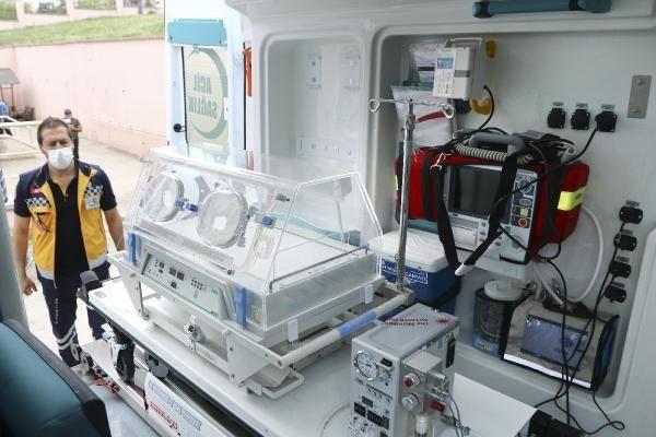 Son dakika sağlık: Acil sağlık hizmetine ihtiyaç duyan bebekler için 50 'yenidoğanambulansı'