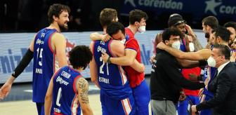 Anadolu Efes, Real Madrid'i eleyerek Euroleague'de Final-Four'a kaldı
