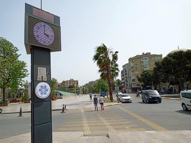 Aydın'da termometreler 35 dereceyi gösterdi
