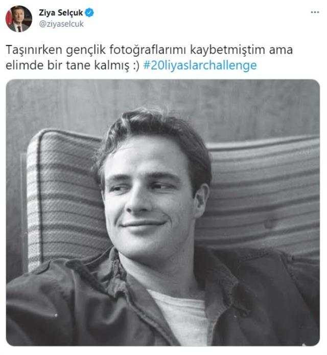 Bakan Ziya Selçuk sosyal medyadaki akıma katıldı, paylaştığı fotoğraf olay oldu