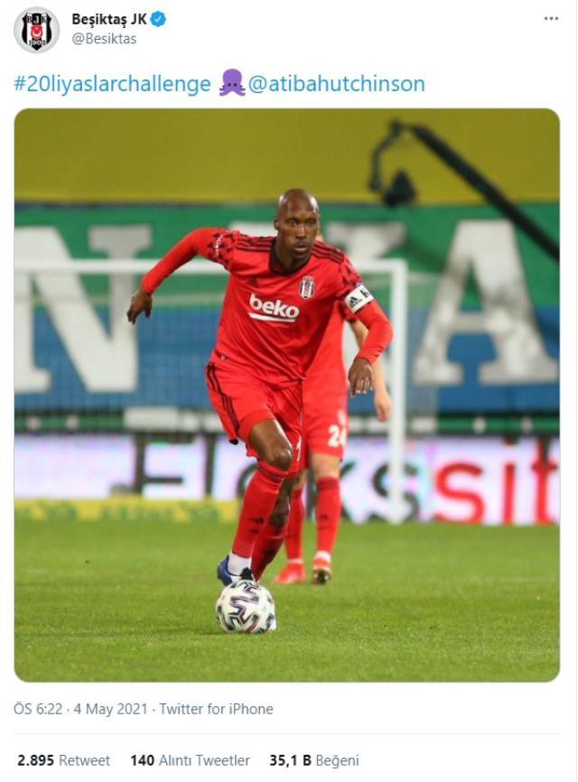 Beşiktaş, 20'li yaş akımına esprili bir paylaşımla dahil oldu
