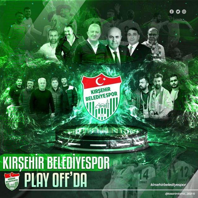 Kırşehir Belediyespor Kulübü Başkanı Bulut'tan play-off maçları öncesi destek çağrısı