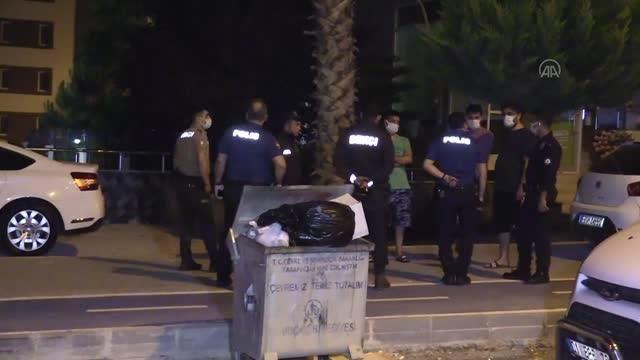 Apartman bahçesinde bıçaklanan iki kardeş hastaneye kaldırıldı