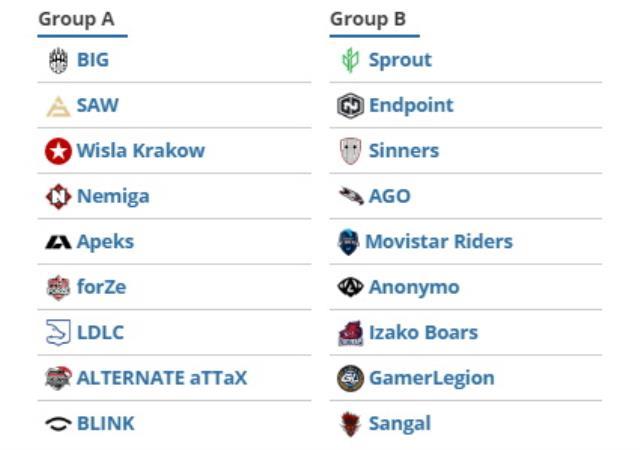 CS:GO ESEA Premier Sezon 37'de Avrupa grupları belli oldu! SAGNAL Esports, XANTARES'li BIG ile karşılaşacak mı?