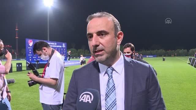 Turkcell Kadın Futbol Ligi - Turkcell Kurumsal İletişim Direktörü İsmail Özbayraktar