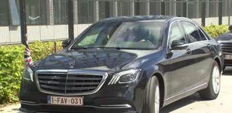 Belçika: Ürdün Kralı 2. Abdullah NATO'yu ziyaret etti
