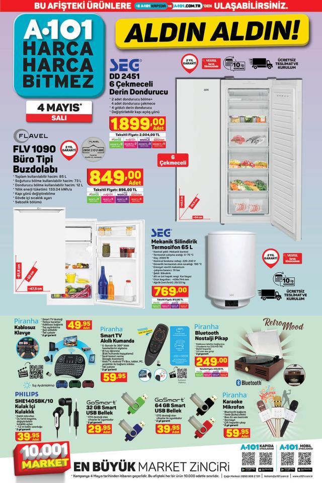 A101 6 Mayıs Aldın Aldın   A 101 Aldın Aldın 2021! A101 aktüel ürün listesi kataloğunda neler var?