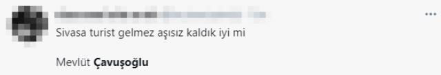 Bakan Çavuşoğlu'nun 'Turistin görebileceği herkesi aşılayacağız' açıklaması sosyal medyada gündem yarattı