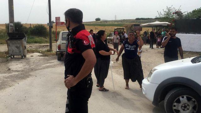 Cono aşiretinden iki aile birbirine girdi, koca mahallede kıyamet koptu
