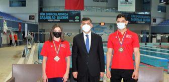Beril: Denizi olmayan kentten çıkıp yüzmede Avrupa derecesi elde ettiler