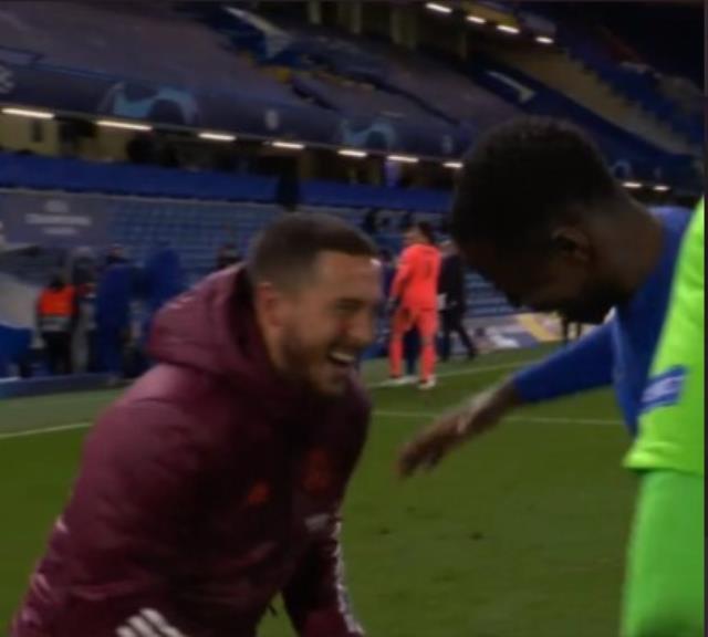 Real Madrid'de Eden Hazard'ın kaçan finalden sonraki mutlu görüntüsüne tepki yağıyor