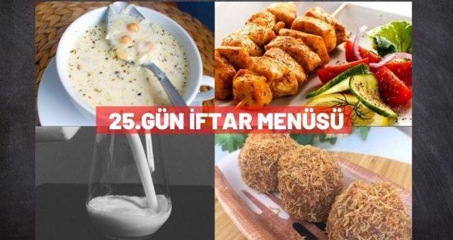 25.Gün iftar menüsü! 7 Mayıs Cuma 2021 Ramazan iftar menüsü