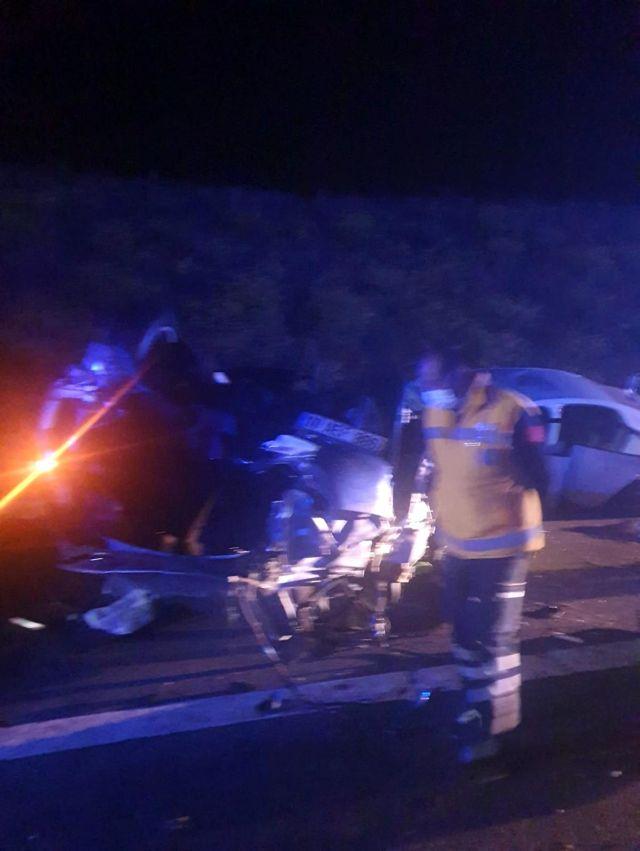 AnkaraNiğde otoyolunda trafik kazası: 5 yaralı