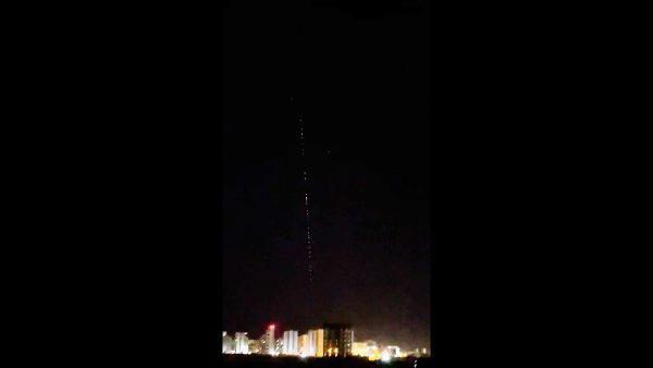 Diyarbakır semalarında görülen ışıklar, Çin'in kontrolden çıkan roketi sanıldı! Gerçek sonradan ortaya çıktı