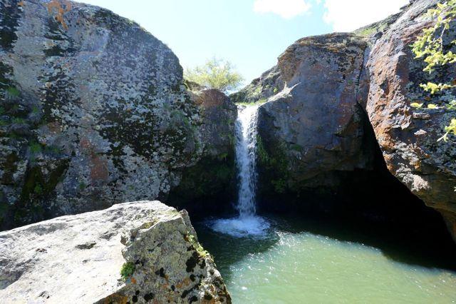 Doğaya gizlenmiş saklı cennet 'Bekiran Şelalesi'