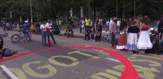 Yolsuzluk: Kolombiya'da hükümete karşı protestolar 9. gününde devam ediyor