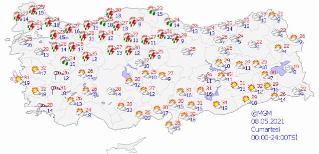 Meteoroloji gün verip uyardı! İstanbul dahil 25 kente kuvvetli geliyor