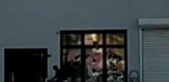 İnegöl: Son dakika haberleri: Pazar yerinin camlarını kırdı; o anlar kamerada