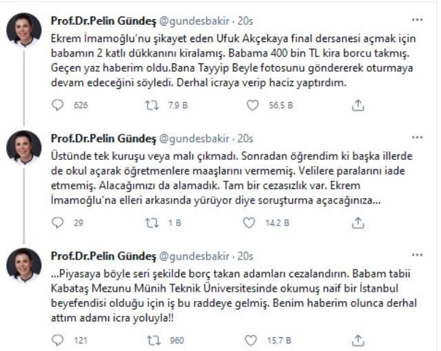 AK Partili eski vekil, 'İmamoğlu'nu ben şikayet ettim' diyen Ufuk Akçekaya'yı ifşa etti: Babama 400 bin TL borç taktı