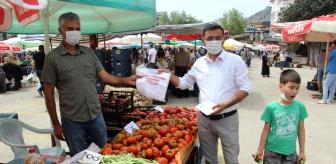 Vatan: Alanya'da pazar yerleri kontrollü bir şekilde açıldı