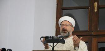 Ezan: Ali Erbaş, Kadir Gecesi dua etti