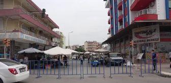 Boğazkent: ANTALYA SERİK'TE 10 NOKTADA PAZAR KURULDU