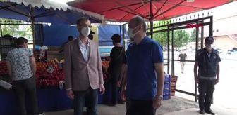 Ekrem Canalp: Edirne Valisi Canalp, açılan pazarları denetledi