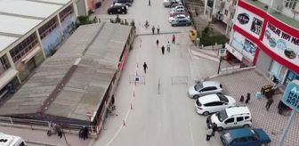 Çanakkale: Bursa ve çevre illerde halk pazarları Kovid-19 tedbirlerine uyularak açıldı