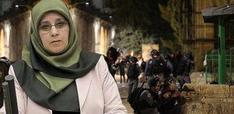 Hüda Kaya: HDP'li vekilden skandal paylaşım! İsrail polisinin Mescid-i Aksa'ya saldırısını Türkiye ile ilişkilendirdi