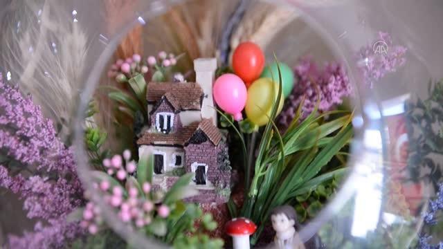 Siparişlerini almaya başlayan Doğu Anadolu'daki çiçekçiler Anneler Günü'nden umutlu