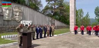 Savaş: Azerbaycan ordusu, Nazi Almanyası'nın mağlup edilmesinin 76. yılını Şuşa'da geçit töreniyle kutladı
