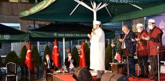 Zonguldak: Son dakika haberleri | Ereğli semalarında Kur'an sesleri yükseldi