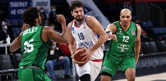 Doğuş Balbay: ING Basketbol Süper Ligi: Anadolu Efes: 84 - Darüşşafaka: 74