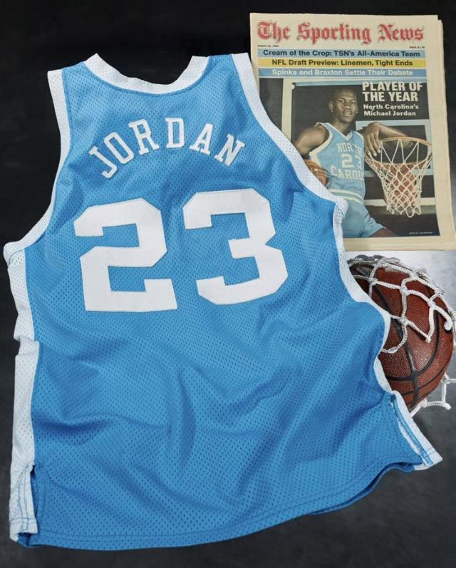 Micheal Jordan'ın forması 1,38 milyon dolara satılarak rekor kırdı