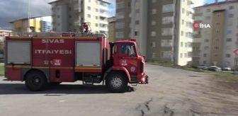 Sivas: Patlayan doğalgaz borusu büyük panik yaşattı