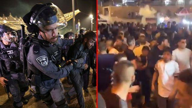 Son Dakika! İsrail, Şam Kapısı'nda Filistinlilere müdahale etti: 64 yaralı