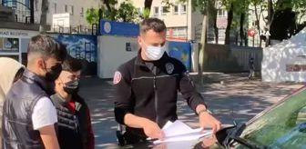 İstanbul: Sultangazi'de kısıtlamaya uymayan gençlere cezai işlem uygulandı