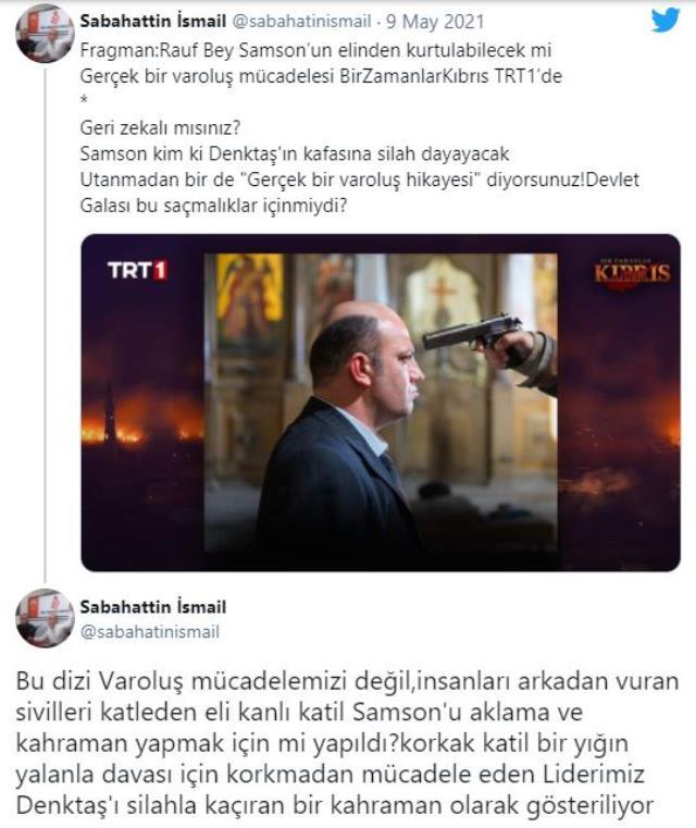 TRT'nin sevilen dizisi Bir Zamanlar Kıbrıs, Yavru Vatan'da krize neden oldu