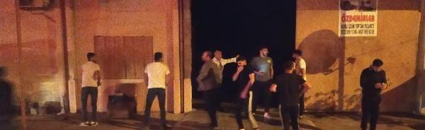 Turgutlu'da, Tarım Ürünleri Gıda Çarşısı'nda iş yeri yangını