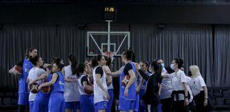 Avrupa Basketbol Şampiyonası: A Milli Kadın Basketbol Takımı, Avrupa Şampiyonası'nın hazırlıklarına başladı
